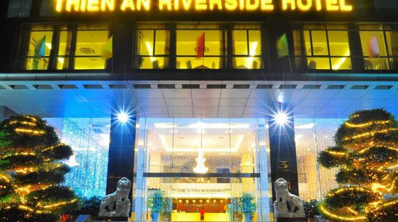 Situated, as you might expect, on the riverside, the Thien An is a very pleasant and well-equipped hotel that will leave you feeling rested and re-energised