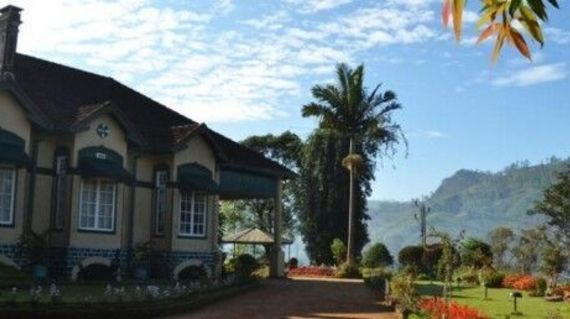 Surrounded by mountains and on a tea estate, this elegant hotel has gorgeous views and fantastic facilities
