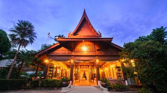 Nestled in stunning scenery, the resort offers very comfortable accommodation in a traditional Thai style.