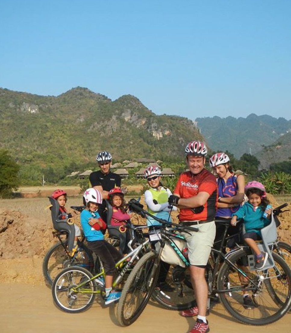 Keep active and keep the children interested on this multi-activity tour of Vietnam