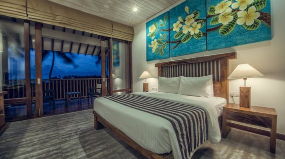 Located by a river and beach, the hotel has fantastic facilities as well as very comfortable rooms in an enviable spot