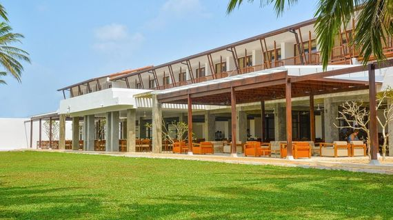 Located right on Negombo beach, the hotel has fantastic facilities as well as very comfortable rooms in an enviable spot