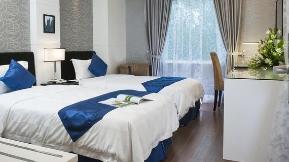 An exceptional hotel in Hanoi's Old Quarter, the hotel is also a short walk from the famous Hoan Kiem Lake so you can explore or enjoy the relaxation