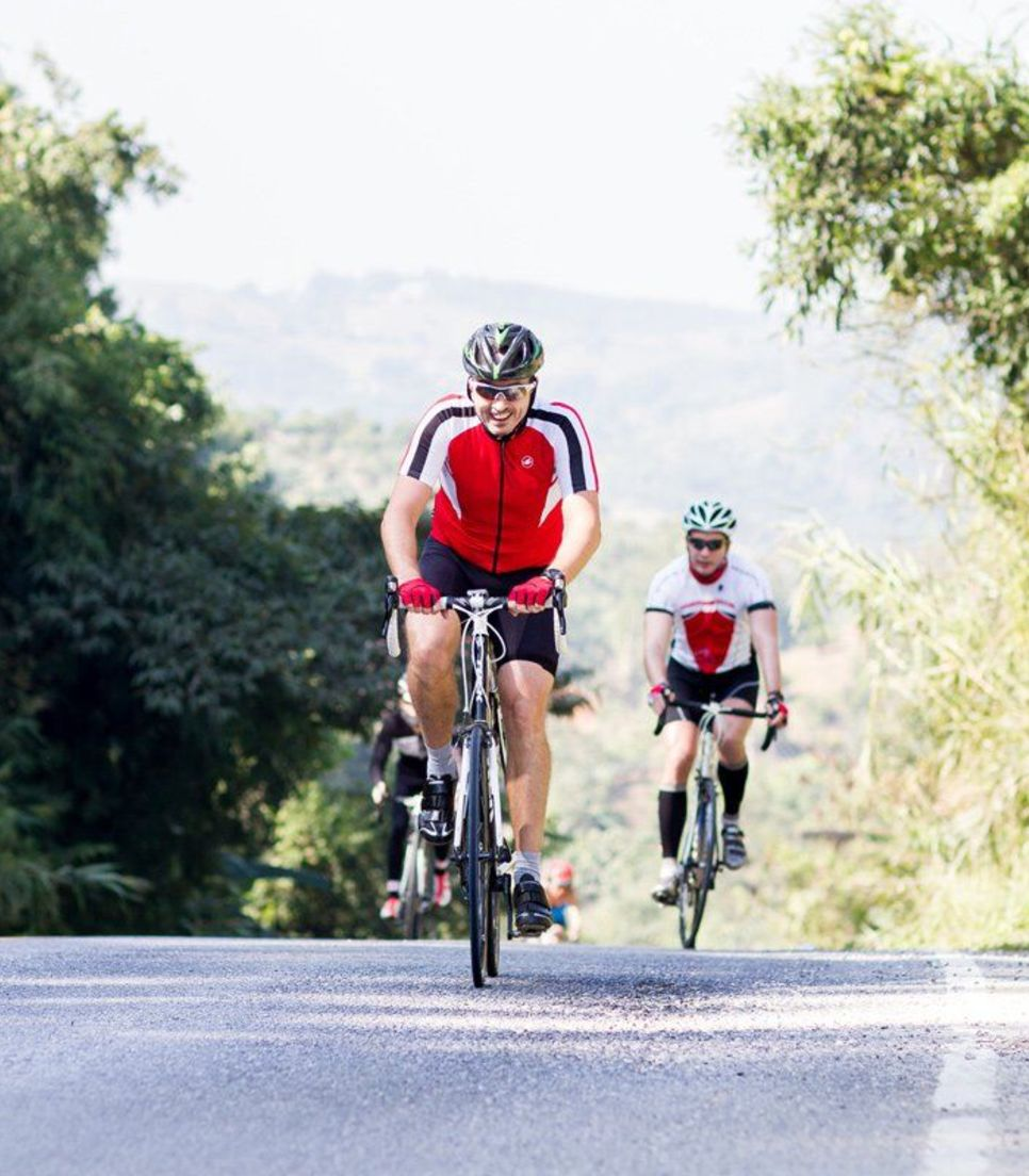 Enjoy support from your fellow comrades and the tour staff, who will help you achieve your riding goals