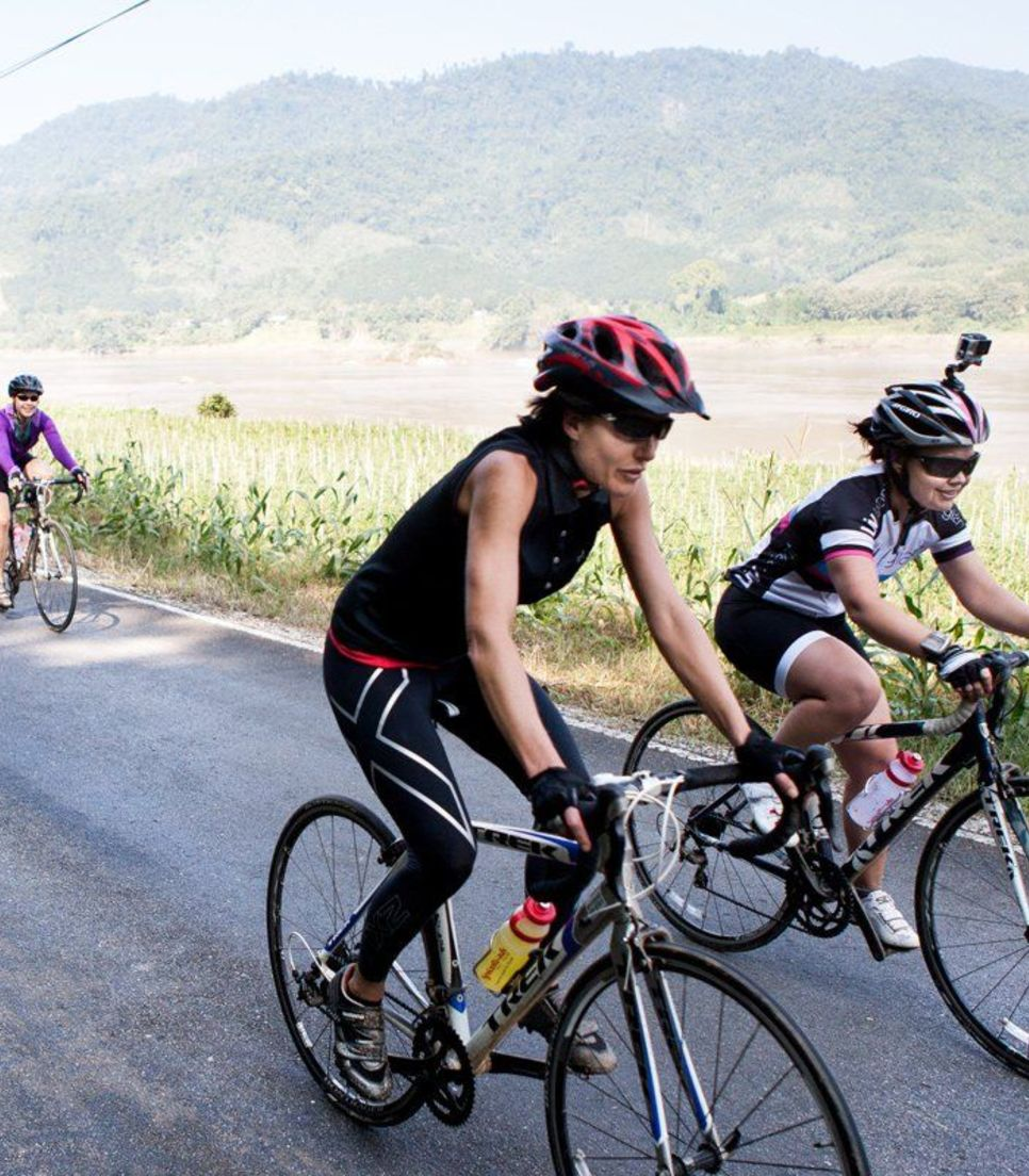 Get the competitive juices flowing as you flourish in a group ride and push yourself to achieve new riding goals