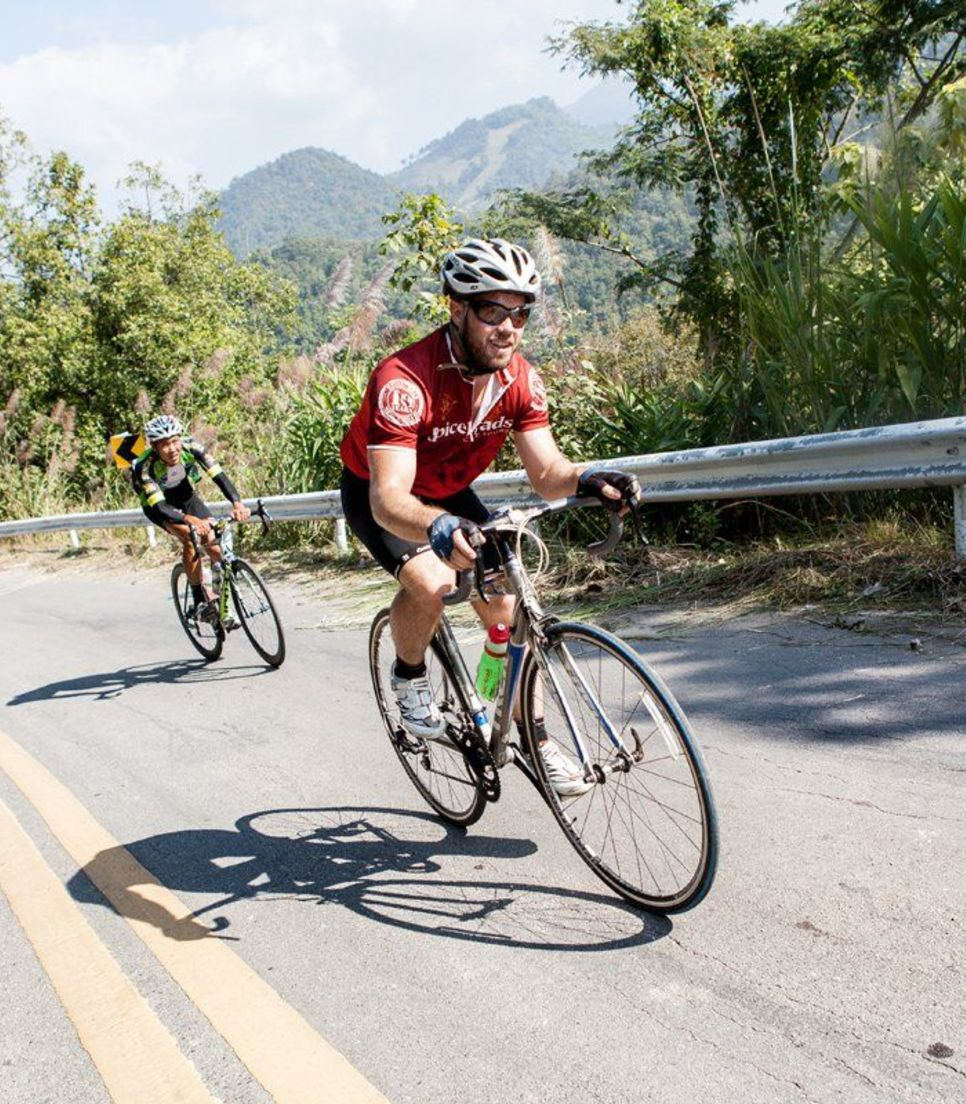Take up the riding challenge and bask in the beautiful scenery of Thailand's northwest