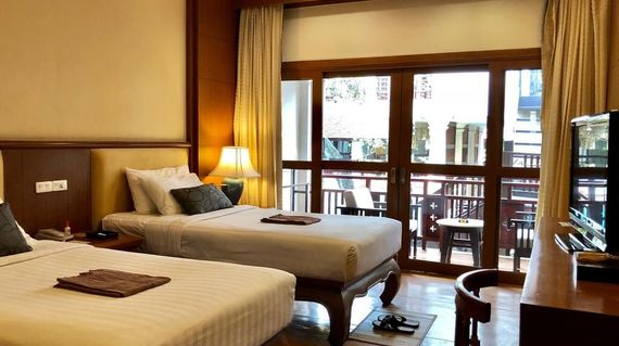 Located in Chiang Mai's old town and offering charming boutique accommodation for your relaxation pleasure