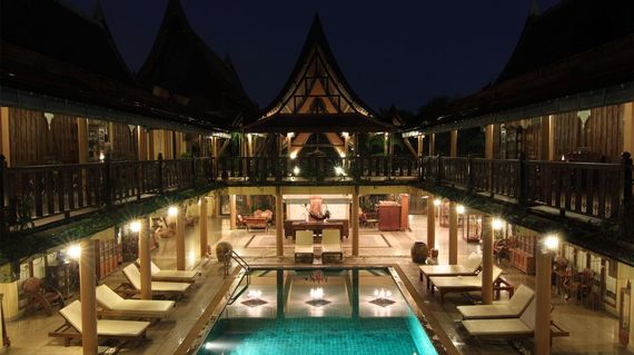 A beautifully designed family-run hotel in the traditional rustic Thai style situated around a stunning pool
