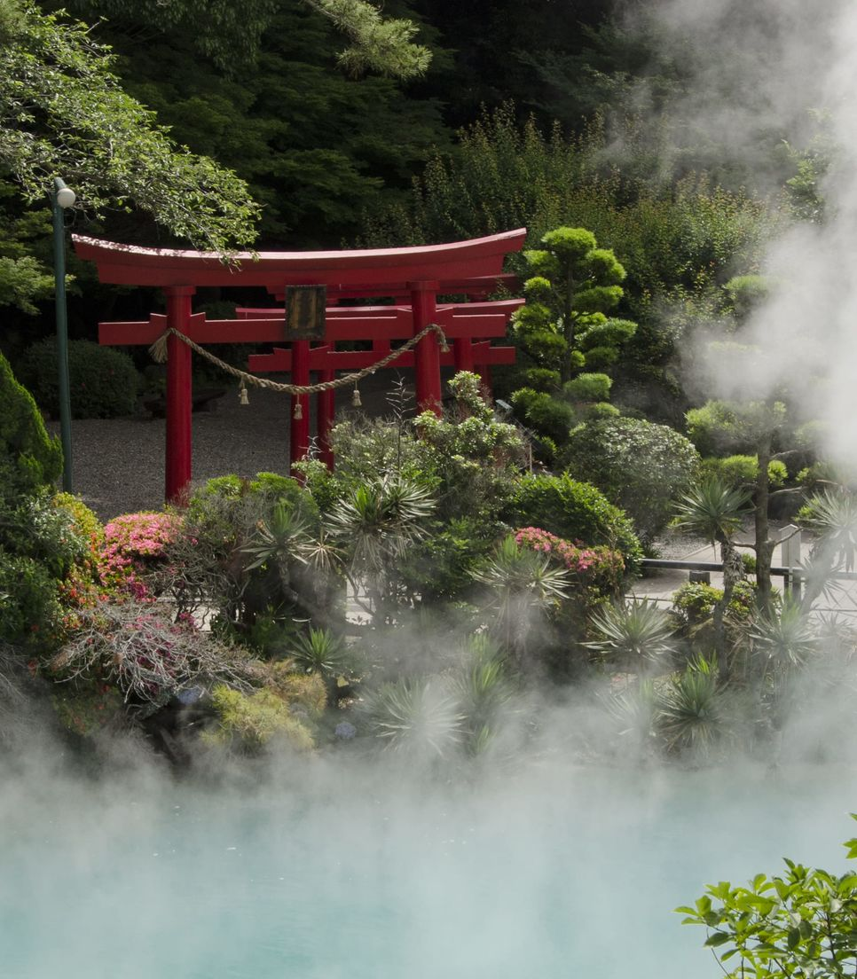 Experience the beauty of Japan's geothermal hot springs and unique cultural heritage.