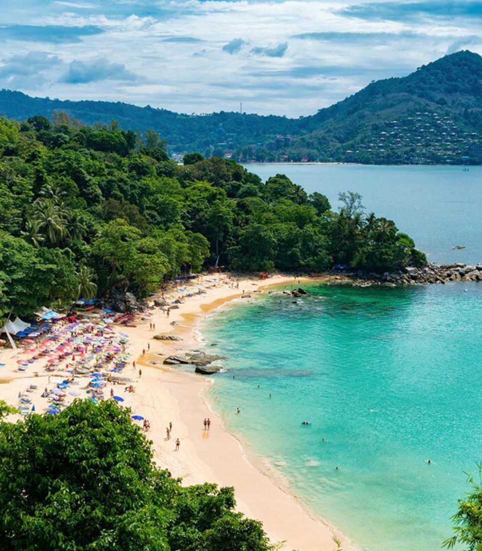 Phuket is famous for its idyllic beaches