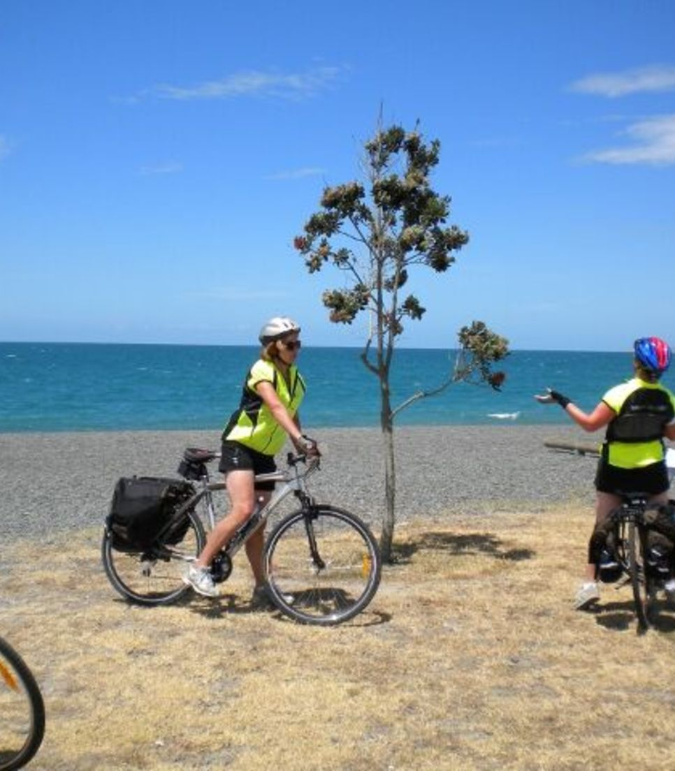 You'll adore the gentle, pleasurable cycling, the wine, the attractions, the peacefulness and those extraordinary views