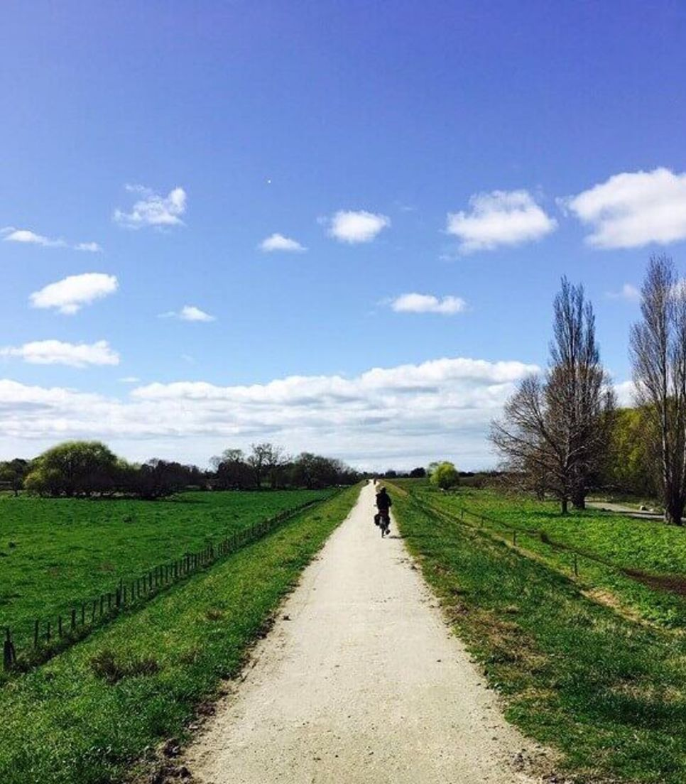Pedal the off-road trails and enjoy the glorious countryside all around