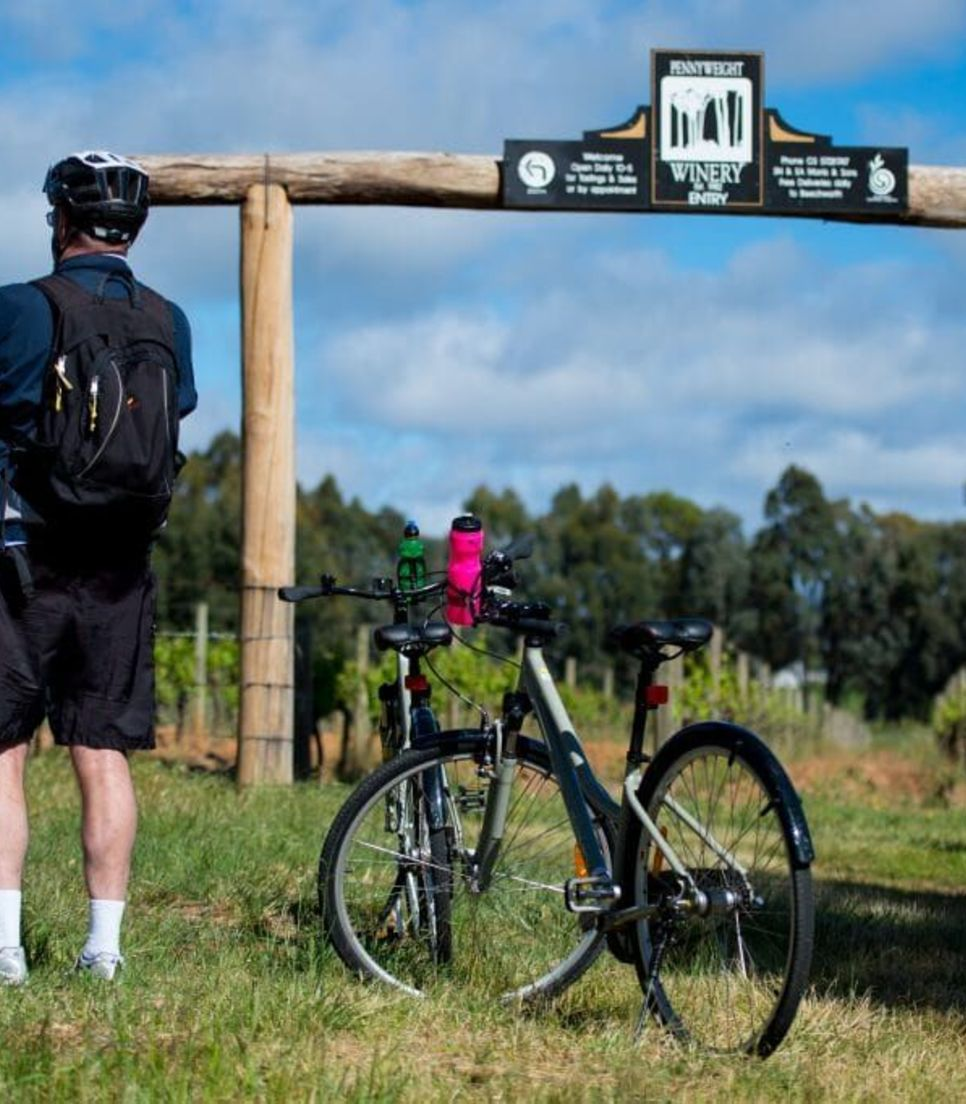 Park your bike and take a diversion to sample the local flavours