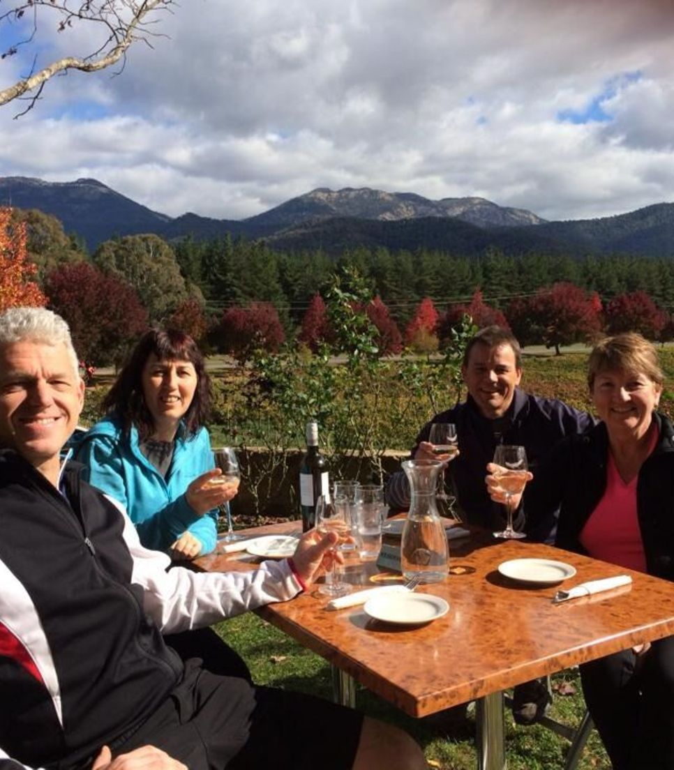 Delight your senses as you enjoy the gourmet lunches on offer as well as plentiful wine and beautiful scenery