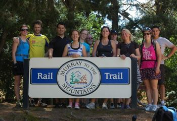 Murray to Mountains Rail Trail Cycling Tour (Small Group Weekends)