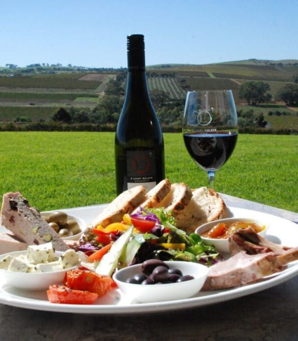 Lap up the gorgeous views as you tuck into divine lunches sipping on local flavors