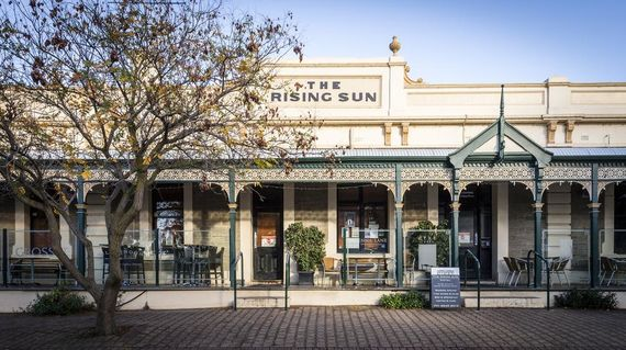 Spend the first night in this charming, heritage building which still retains its character as a good old Australian pub