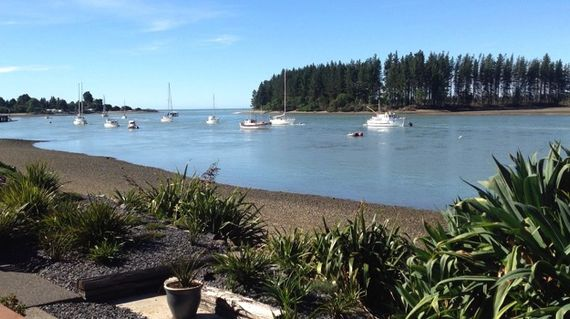 Located on the water's edge with views of Rabbit Island and the sea, this idyllic B&B has a pool and a friendly welcome