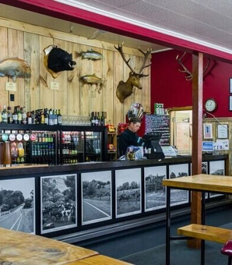 Stop for refreshments at this iconic pub along the route