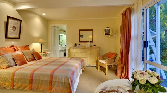 Enjoy the beautiful and relaxing Peppertree on your final night in this delightful setting
