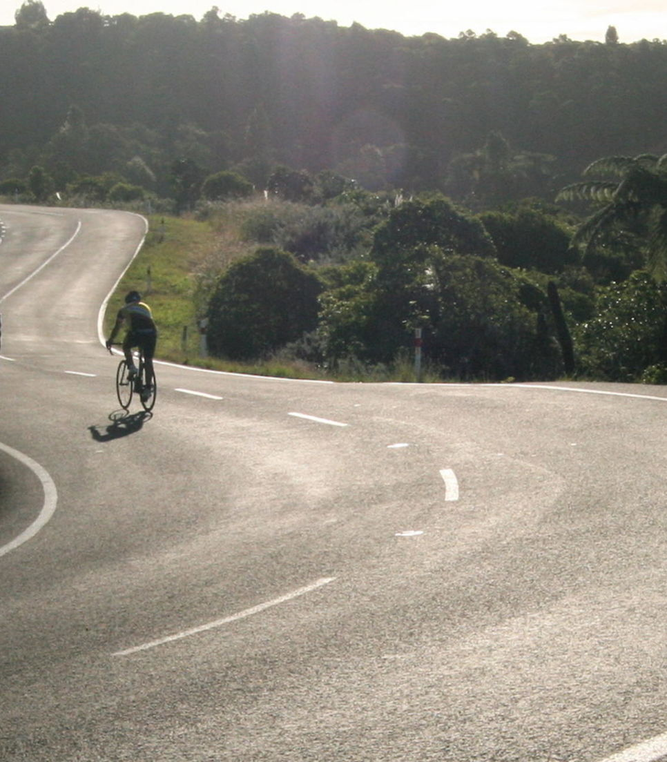 Lap up the smooth, quiet roads as you cruise through the glorious vistas
