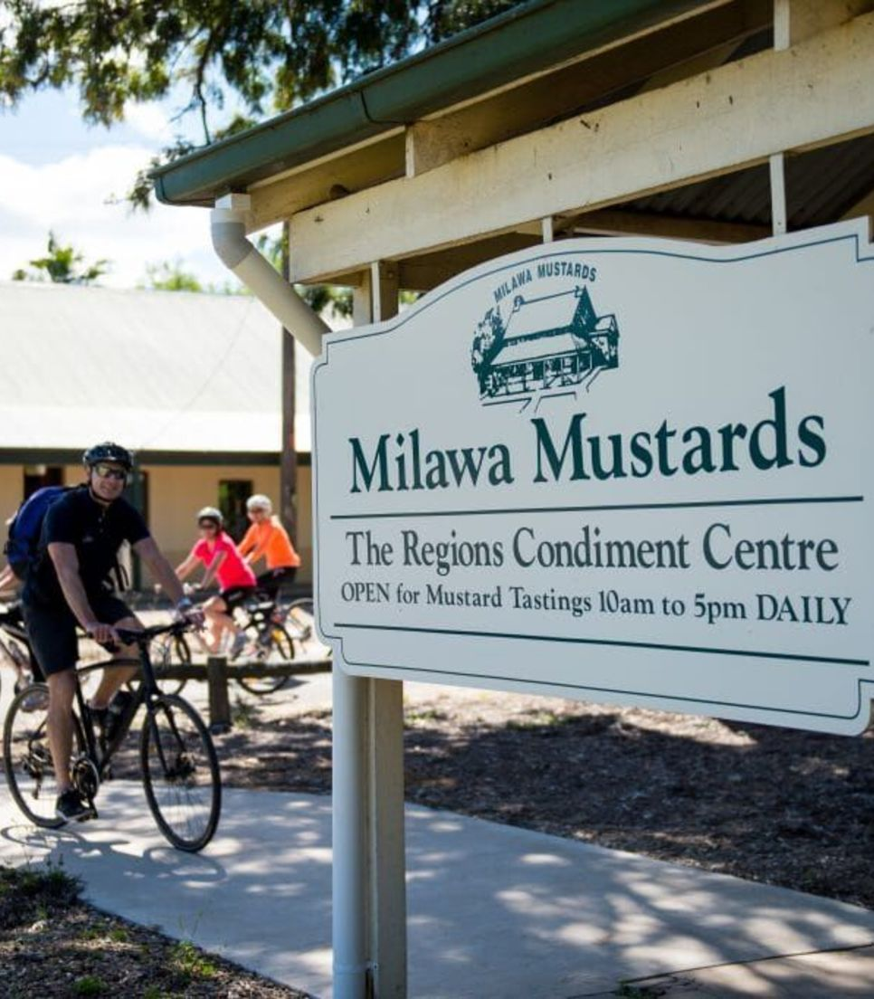 Be sure to stop by Milawa Mustards