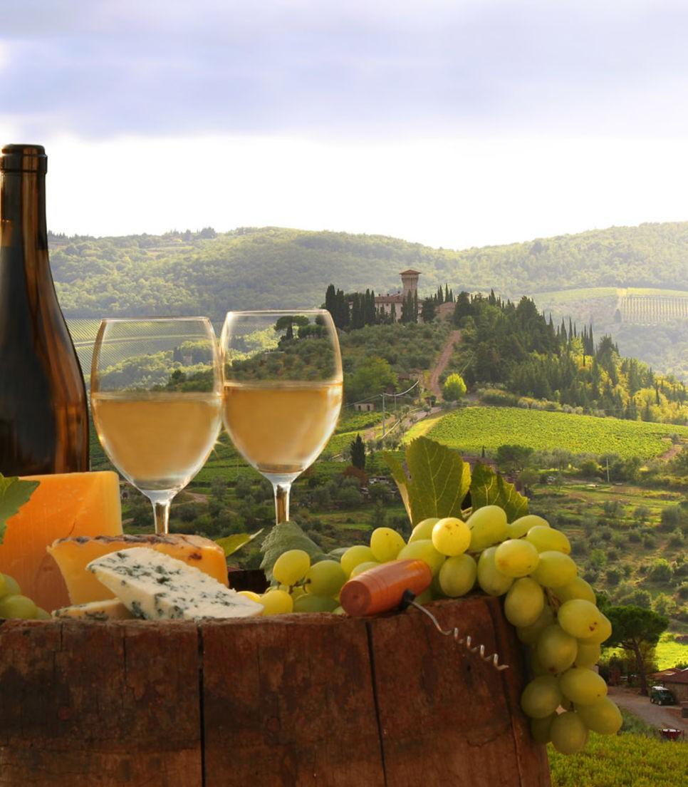 Enjoy fantastic local produce while taking in the beautiful vistas.