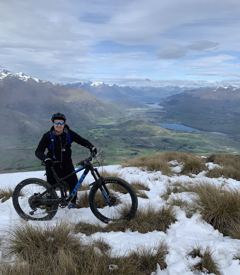 Take your pick of experiencing Heli-biking on this trip at either Crown Peak or Vanguard Peak, see the tour add-ons for more info
