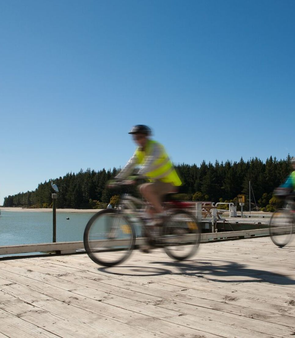 Cruise along the route lapping up the idyllic views that pass you by