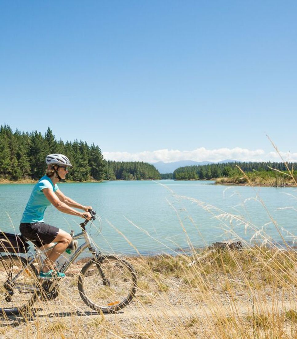 Embrace the relaxation on this lovely tour along the Great Taste Trail