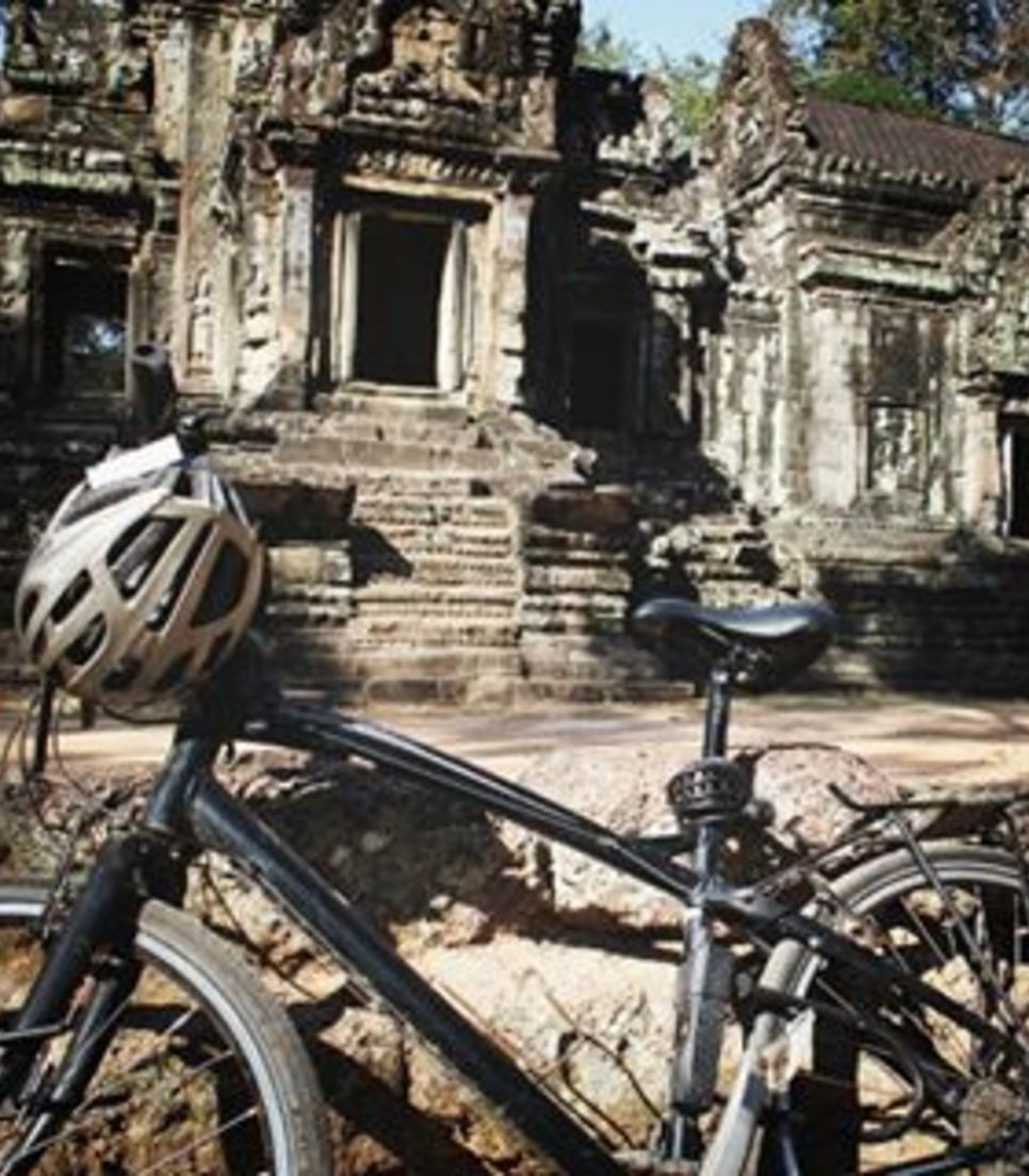 Spend some time enjoying a fully guided tour of the Angkor Wat complex
