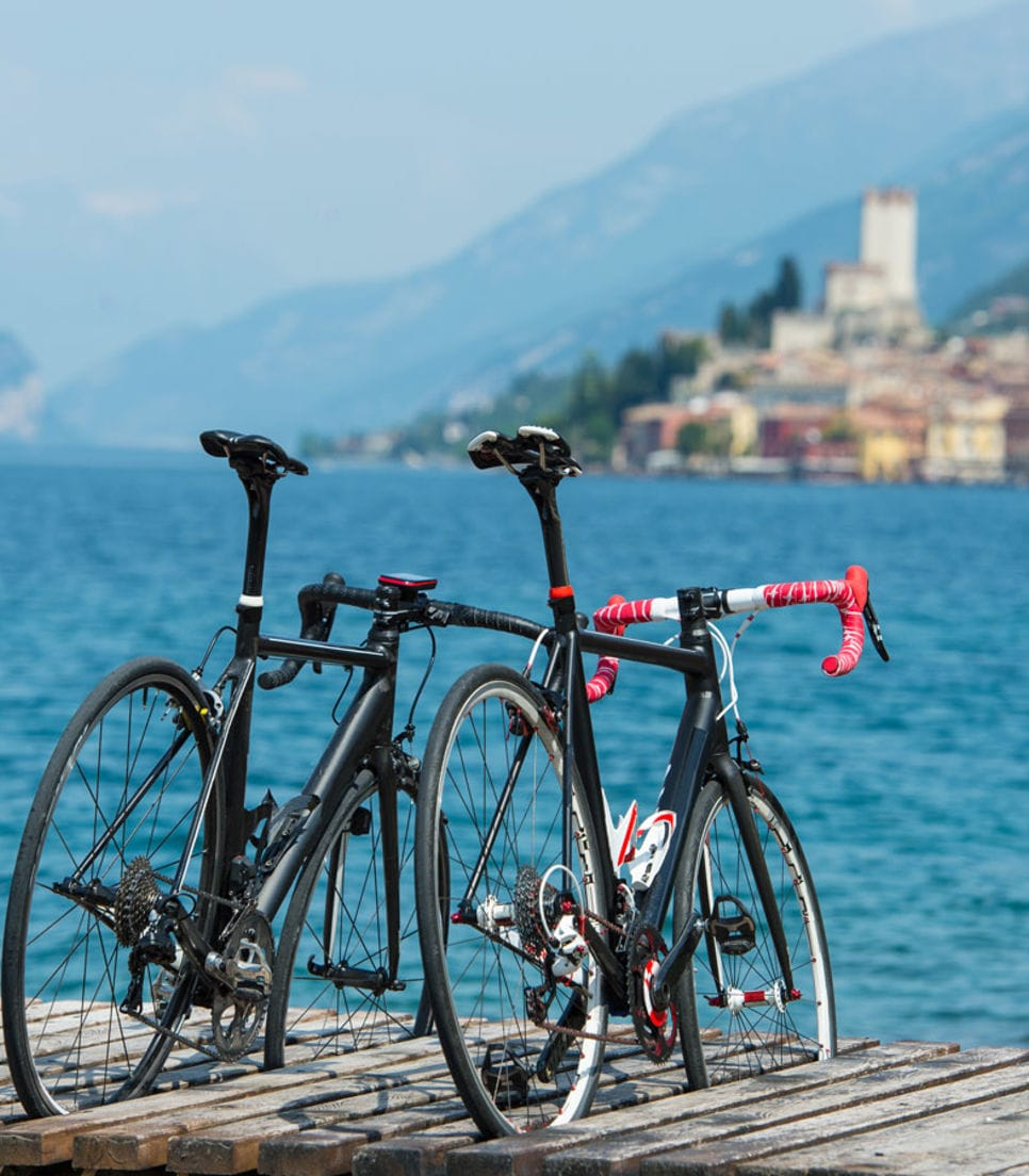 Cycle around the lakes and into nearby hills that are off the beaten track
