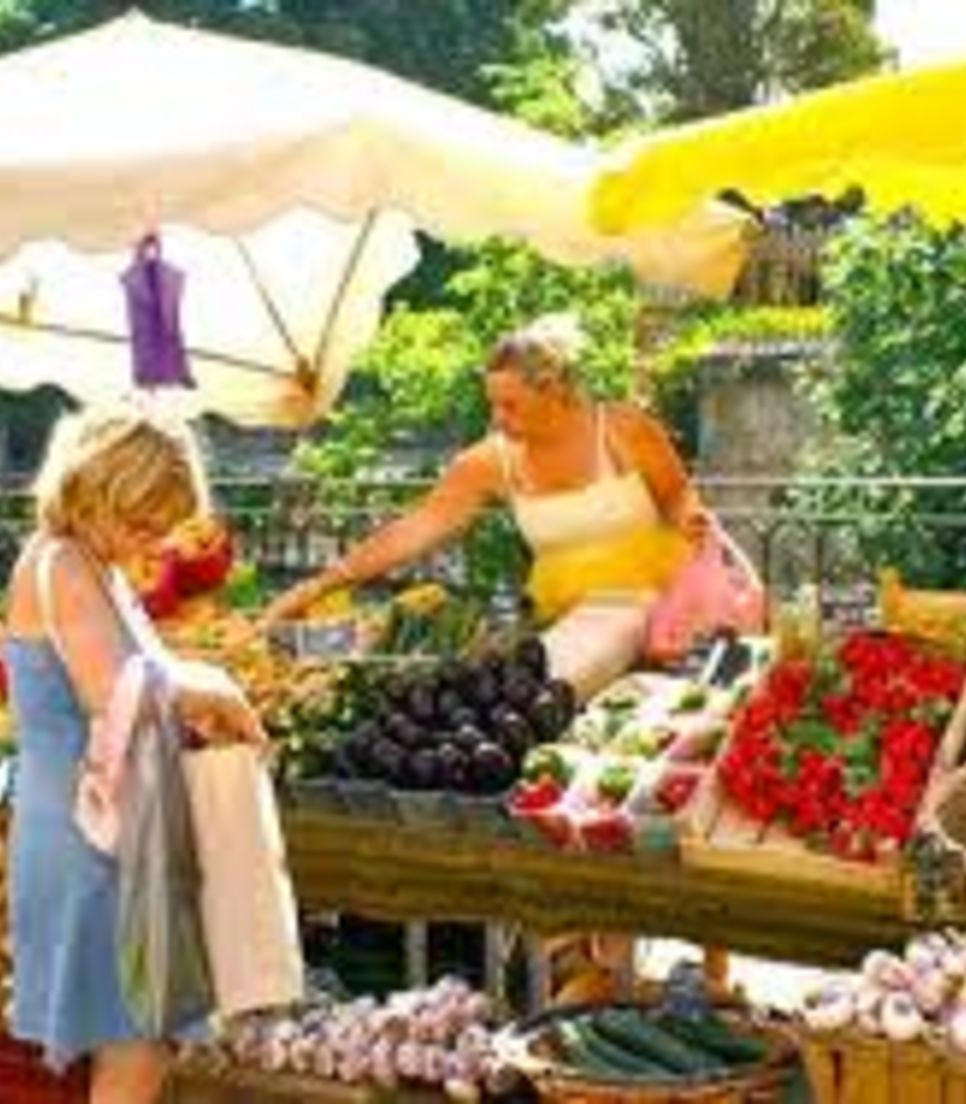 Experience the bountiful and lively produce markets in Provence