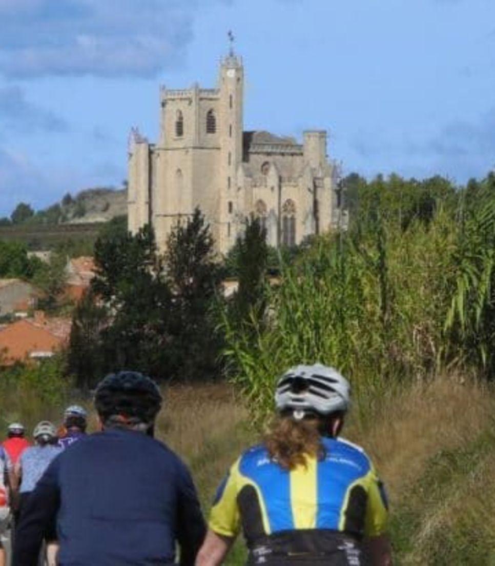 Ride past superb vistas as you clock up the kilometers