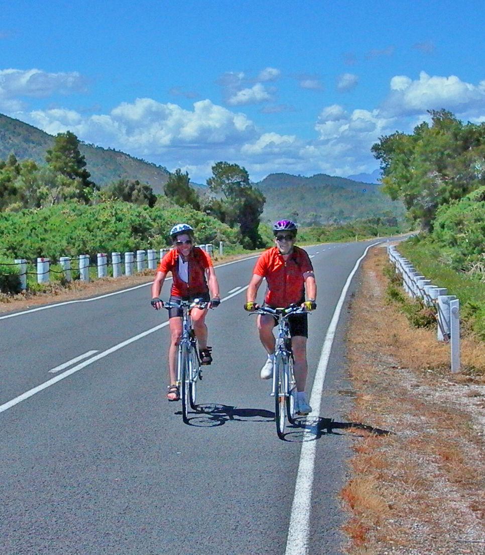 Soak up the lovely landscapes of eastern Tasmania