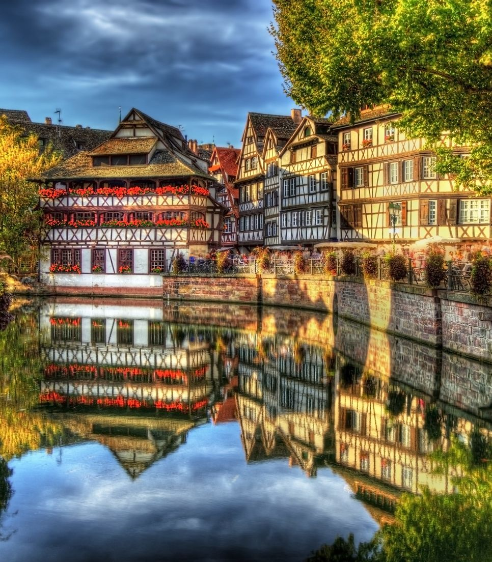 Start the tour from stunning Strasbourg and encounter the delightful architecture of the region