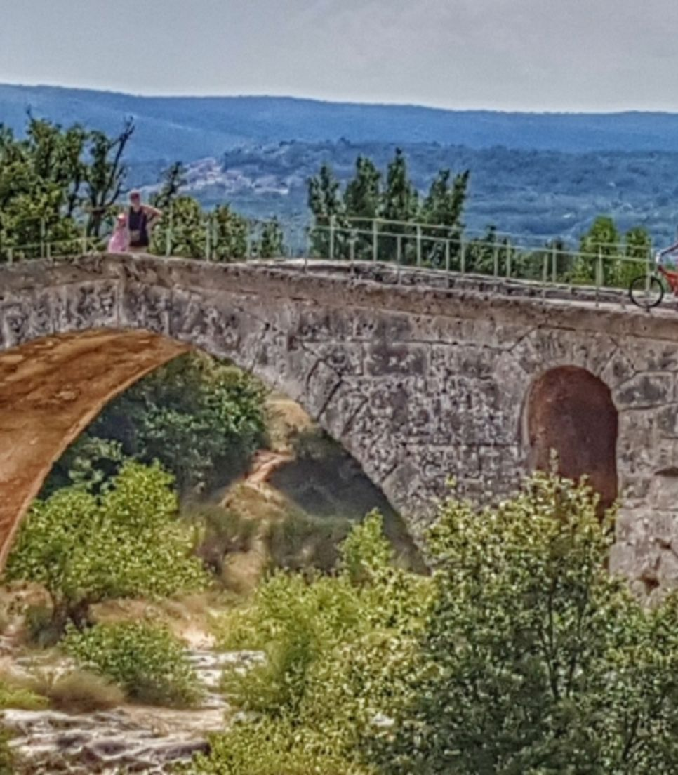 Cycle through the rolling landscape of southern France