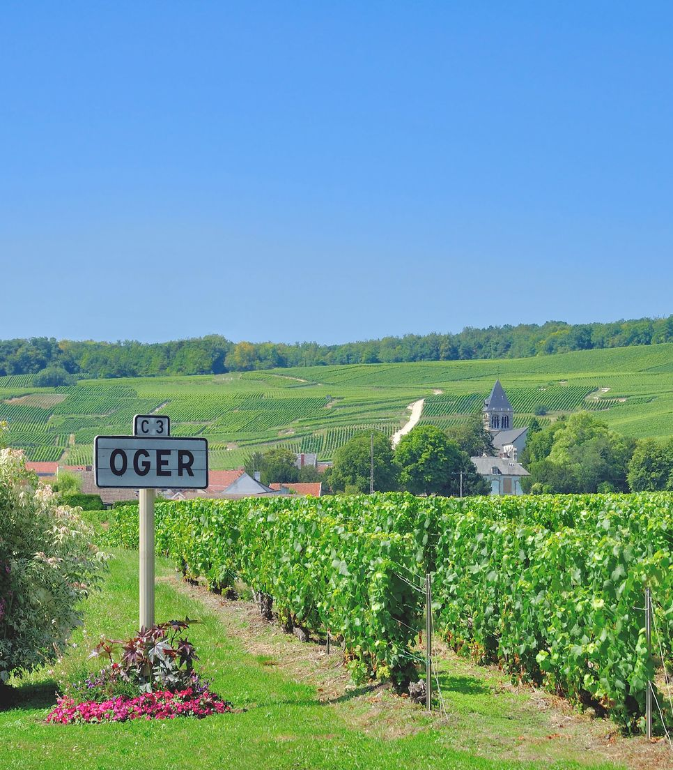 With the earned title of one of the most beautiful villages in France, you'll enjoy visiting Oger on day 3