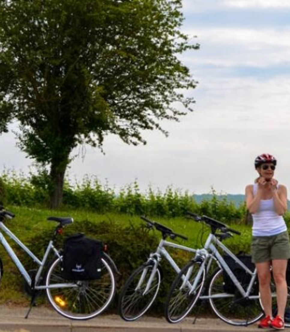 Explore the lanes and rural trails of the region