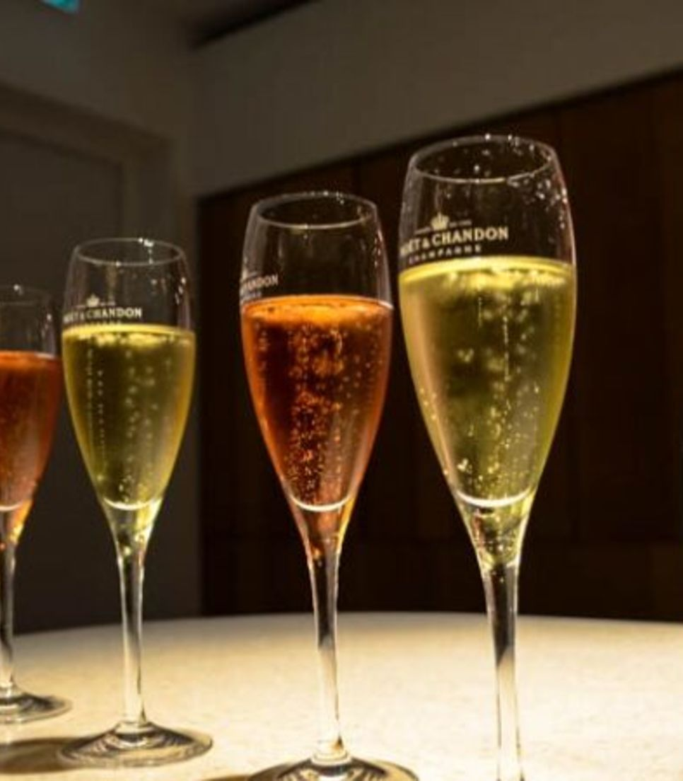 Sample some of the finest champagne in France