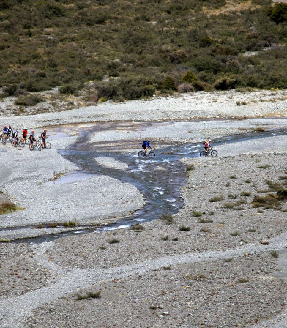 Bike your way over some of NZ's most spectacular landscapes