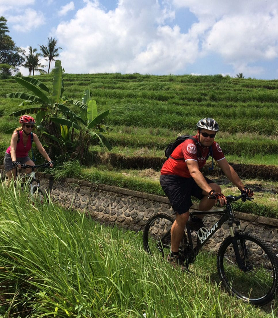 Go beyond Bali's beaches and discover its MTB trails