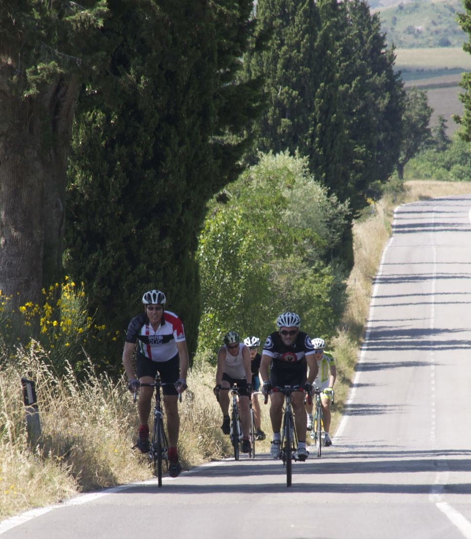 Ride the quiet and vista-filled roads of Tuscany