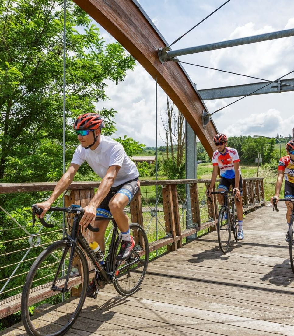 Explore this historic and beautiful region by bike