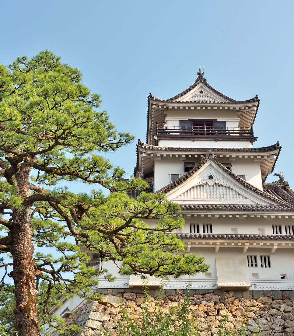 Discover this fascinating landmark, a survivor of both wars and one of Japan's only authentic castles, in a peaceful and tranquil setting