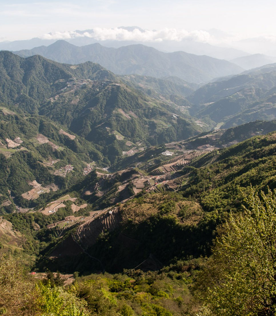 Another gorgeous view from high in the Taiwanese mountains
