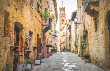 Historic narrow streets