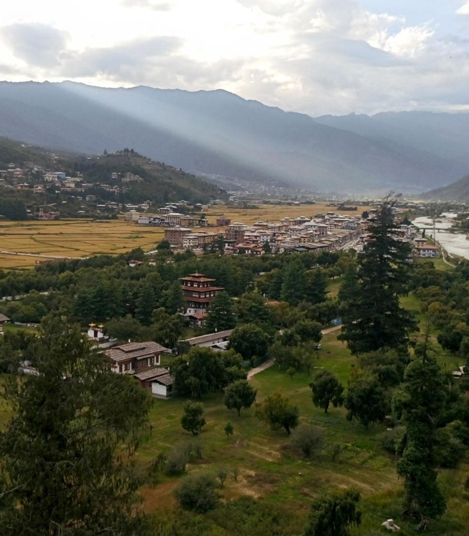 Enjoy Bhutan's pristine environment