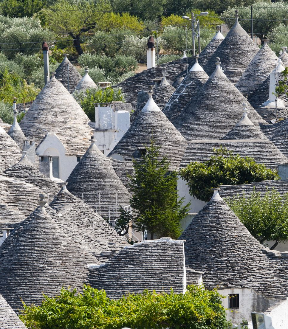 Explore the iconic Trulli structures so representative of the region