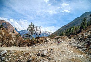 Kathmandu One Day Biking
